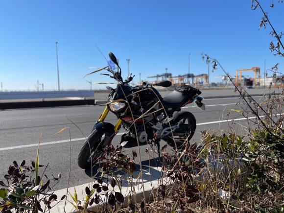 BMW-G310R-in-TOKYOBAY-area